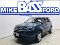 2019 Ford Explorer Base SUV 1FM5K8B83KGA18774 for sale near Elyria, OH at Mike Bass Ford