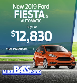 New 2019 Ford Fiesta S Automatic