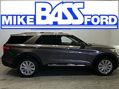 2021 Ford Explorer Limited SUV 1FM5K8FW1MNA16612 for sale near Elyria, OH at Mike Bass Ford
