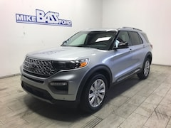 2021 Ford Explorer Limited SUV 1FM5K8FW6MNA14080 for sale near Elyria, OH at Mike Bass Ford
