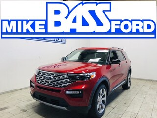 2020 Ford Explorer Platinum SUV 1FM5K8HC3LGD19333 for sale near Elyria, OH at Mike Bass Ford