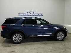 2021 Ford Explorer Limited SUV 1FM5K8FWXMNA04460 for sale near Elyria, OH at Mike Bass Ford