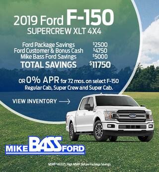 2019 Ford F-150 Supercrew XLT 4x4