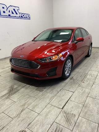 2020 Ford Fusion SE Sedan 3FA6P0HDXLR145165 for sale near Elyria, OH at Mike Bass Ford