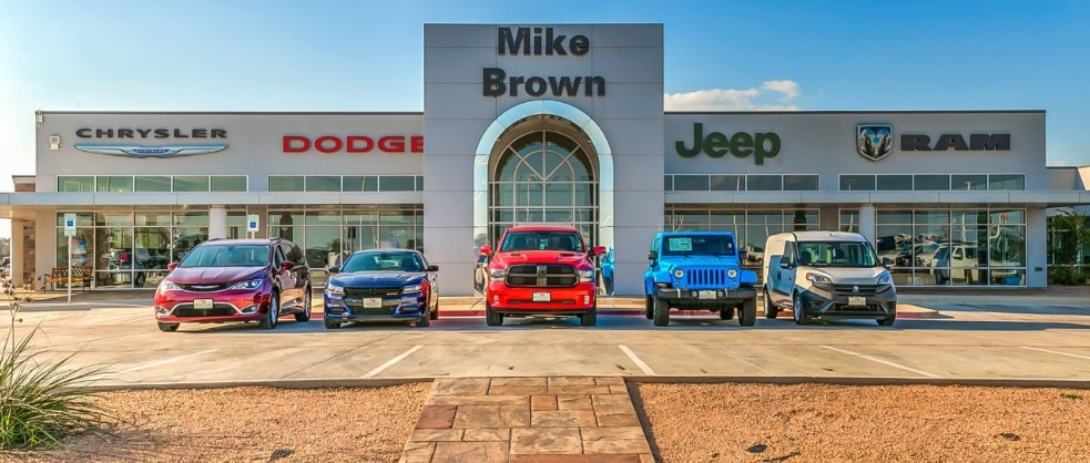 About Mike Brown Cdj Ram And Dodge Dealership Granbury Tx