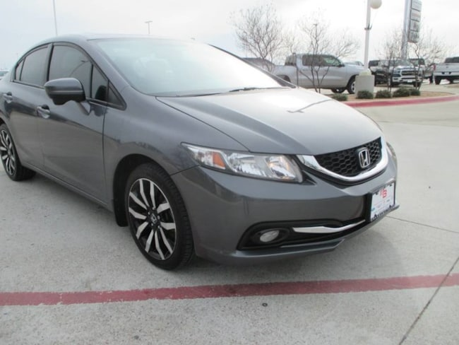 2014 Honda Civic EX-L w/Navi Sedan