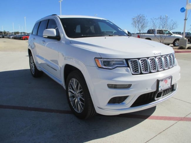 2018 Jeep Grand Cherokee SUMMIT 4X2 Sport Utility