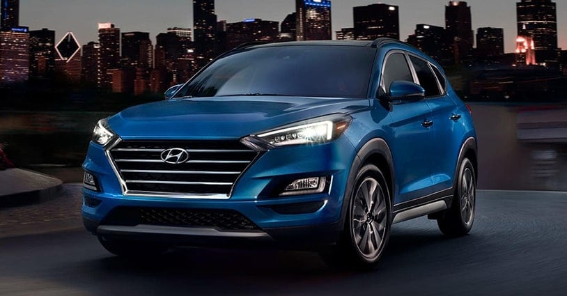 New 2019 Tucson Mike Camlin Hyundai