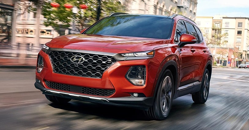 New 2019 Santa Fe Mike Camlin Hyundai
