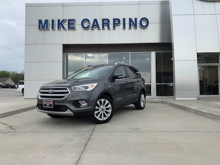 Featured used 2014 Ford Escape Titanium SUV for sale in Columbus, KS