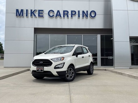 Featured new 2021 Ford EcoSport S SUV for sale in Columbus, KS