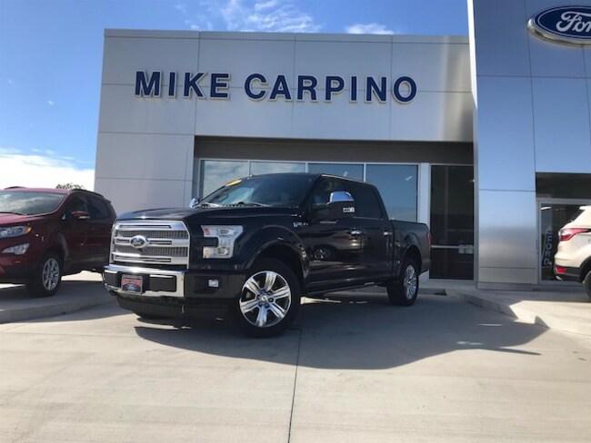 Used 2015 Ford F-150 Platinum Truck Columbus Kansas