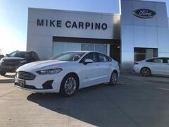New 2019 Ford Fusion Hybrid SE Sedan 3FA6P0LU4KR103614 For sale near Joplin MO