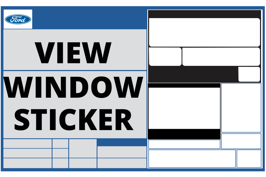 View Window Sticker