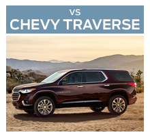Click to compare the 2018 Ford Flex to the 2017 Chevrolet Traverse
