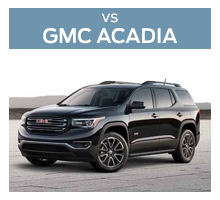 Click to compare the 2018 Ford Explorer and the 2018 GMC Acadia