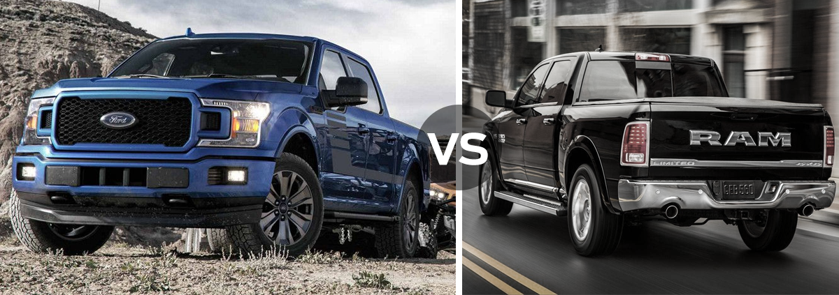Ford F-150 vs Ram 1500