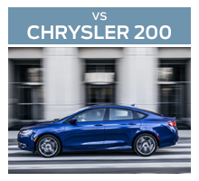 Click to compare the 2018 Ford Fusion to the 2017 Chrysler 200