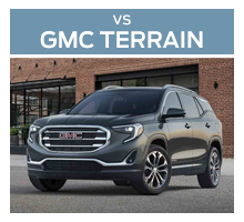 Click to compare the 2018 Ford Escape and the 2018 GMC Terrain