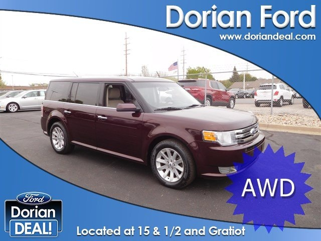 Used 2011 Ford Flex For Sale in Clinton Township MI | VIN: 2FMHK6CC3BBD09156