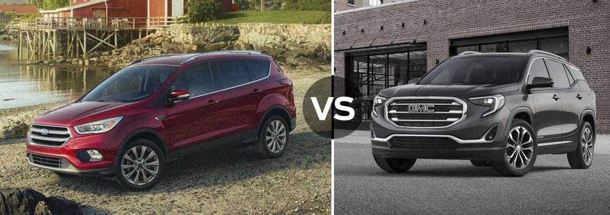 Ford Escape vs GMC Terrain
