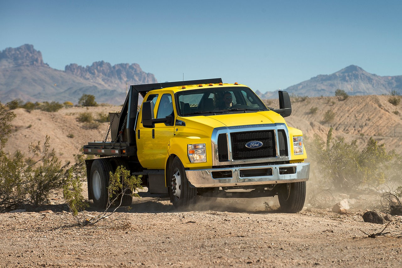 Ford F-Series Commercial, Yellow