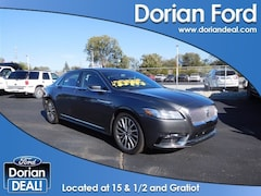 2017 Lincoln Continental Select 4dr Car For Sale in Clinton Township, MI