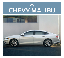 Click to compare the 2018 Ford Fusion to the 2017 Chevrolet Malibu