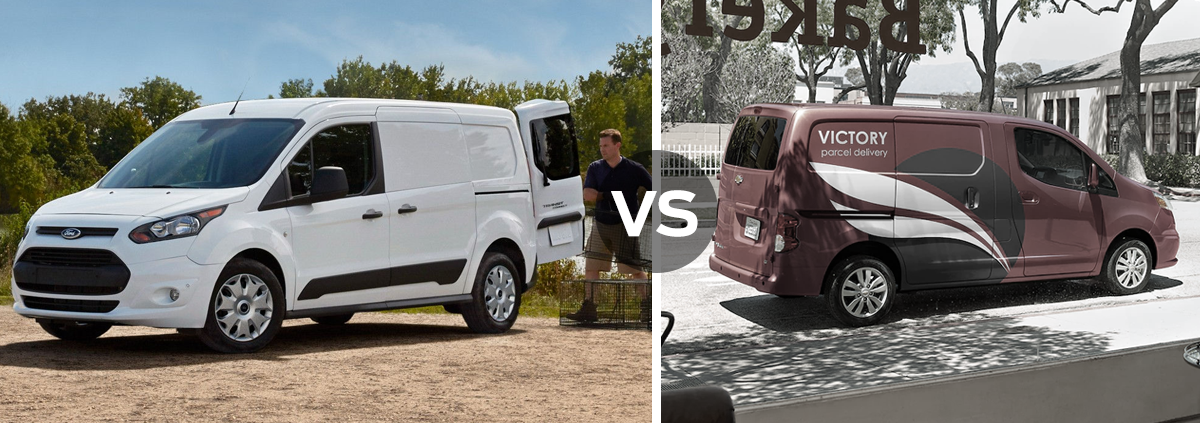 Ford Transit Connect vs Chevrolet Express