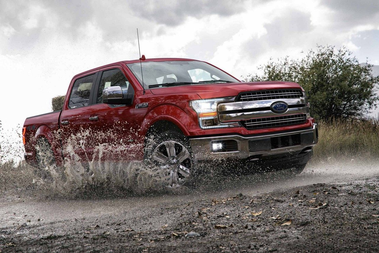 2018 Ford F-150 Lariat SuperCrew in Ruby Red