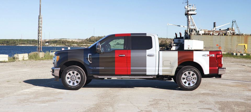 Ford Super Duty Exterior Color Options