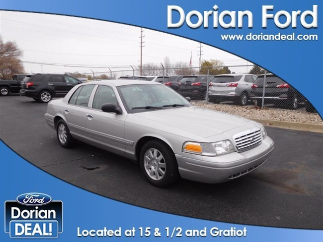 2008 Ford Crown Victoria LX 4dr Car For Sale in Clinton Township, MI