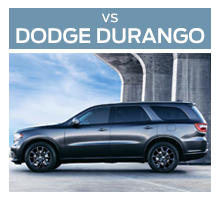 Click to compare the 2018 Ford Flex to the 2017 Dodge Durango