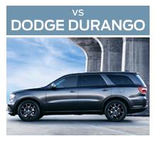 Click to compare the 2018 Ford Flex to the 2017 Dodge Durango