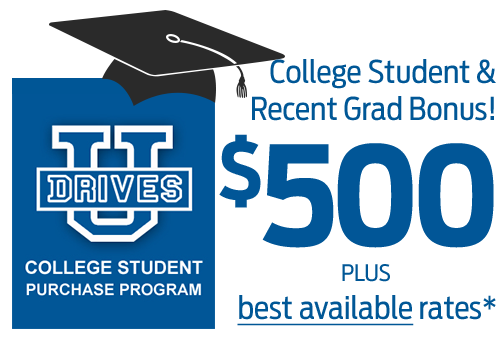 College Students Save More at Dorian Ford with Bonus Cash and the Best Rates!