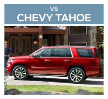 Click to compare the 2018 Ford Expedition to the 2017 Chevrolet Tahoe