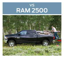 Click to compare the 2018 Ford Super Duty F-250 to the 2018 Ram 2500