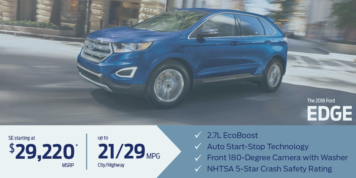 Learn more about the all-new 2018 Ford Edge