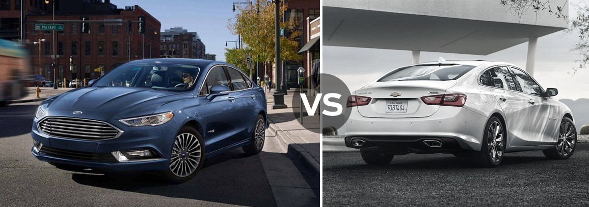 Ford Fusion vs. Chevrolet Malibu