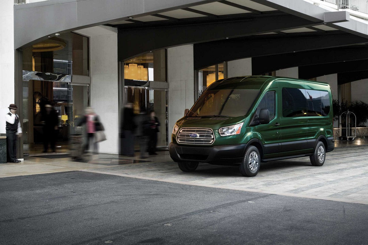 Transit VanWagon Green