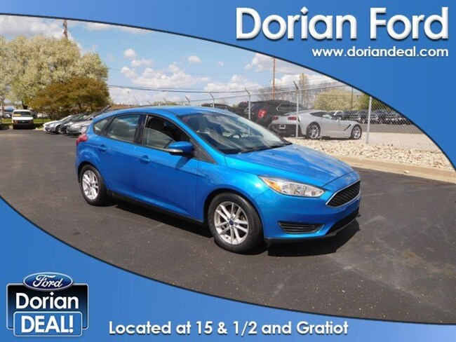 2015 Ford Focus SE Hatchback For Sale in Clinton Township, MI