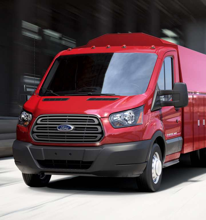 Ford Transit CC-CA Red