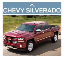 Click to compare the 2018 Ford F-150 to the 2017 Chevrolet Silverado