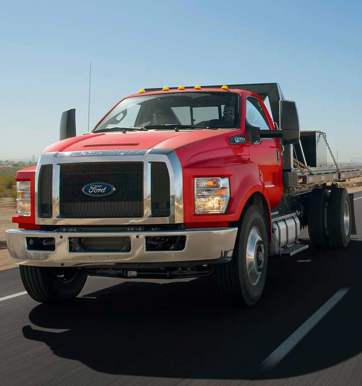 Ford F-Series Commercial, Red