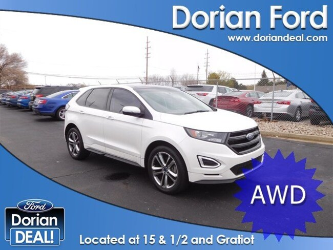 2016 Ford Edge Sport Sport Utility For Sale in Clinton Township, MI