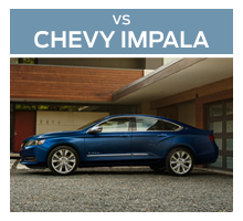 Click to compare the 2018 Ford Taurus to the 2017 Chevrolet Impala