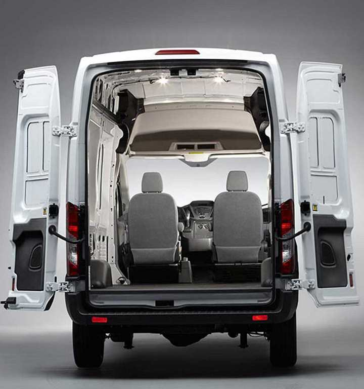 Ford Transit Rear Interior