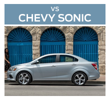 Click to compare the 2017 Ford Fiesta to the 2017 Chevrolet Sonic