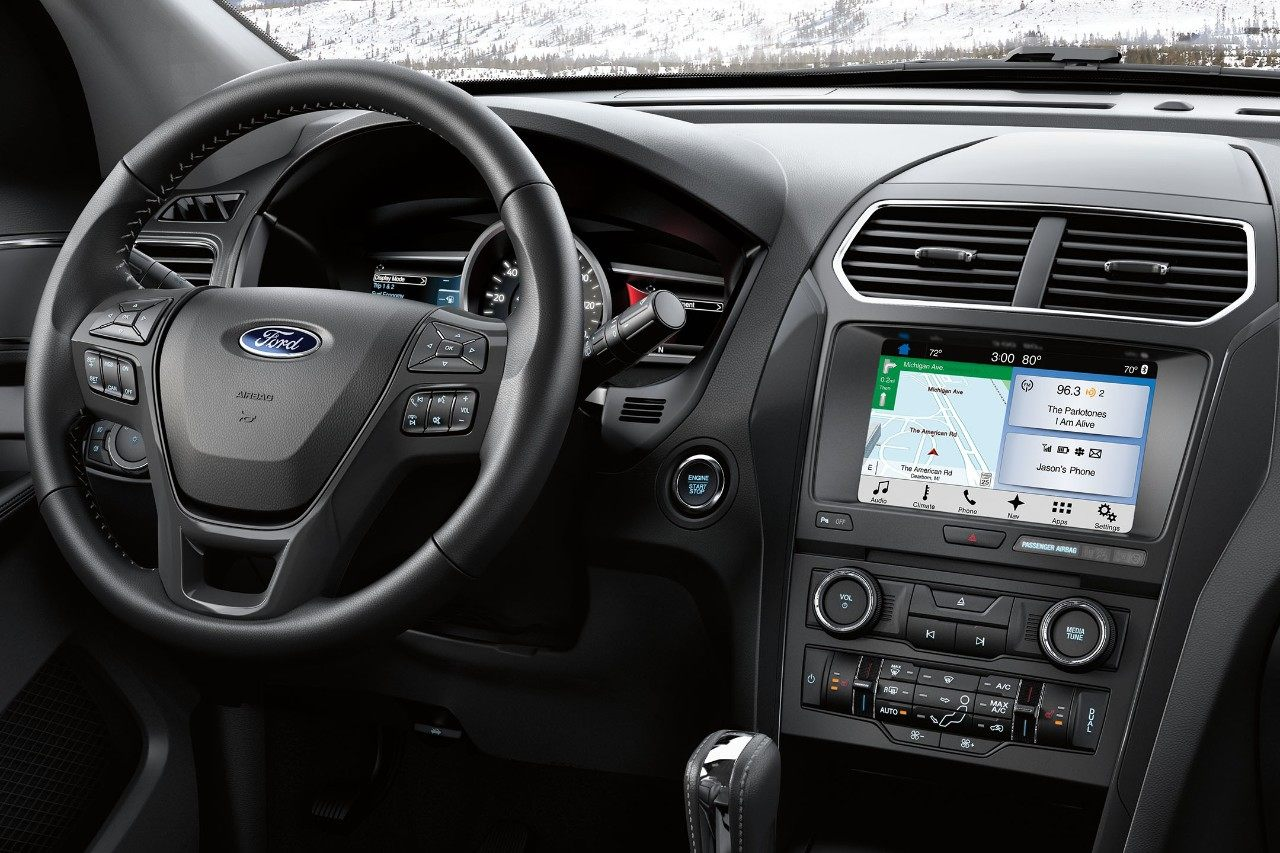 Ford Explorer Navigation and SiriusXM Traffic and Travel Link