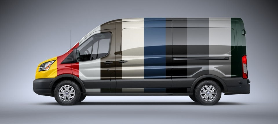 Ford Transit Color Variations